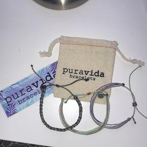 Puravida bracelet 3-pack